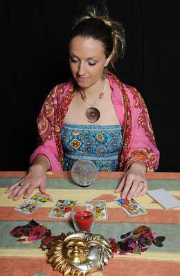 Tarot Stamping Ground - Psychic Catherine