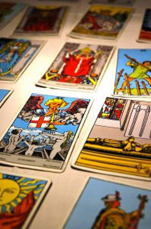 tarot cards reference chart